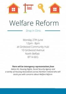 Welfare Reform Drop In Clinic